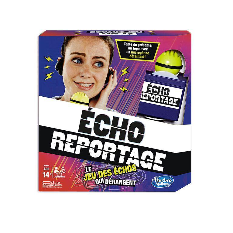 Hasbro Gaming - Jeu Écho reportage - version française.