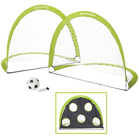 Viva Active 2 Pack Pop Up Soccer Goal
