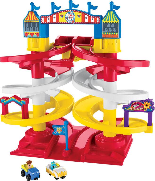 DisneyPixar ToyStory4 Coffret La piste en spirale du Carnaval - Édition anglaise