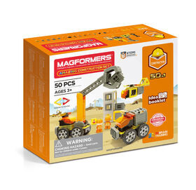 Magformers Amaz!ng Construction 50 Piece Set