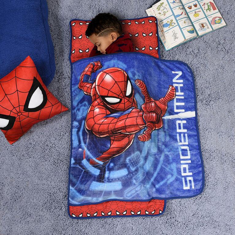 Toddler Nap Mat Blanket, Marvel Spiderman