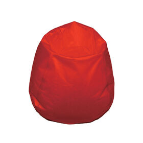 Boscoman - Youth-Size Round Bean Bag - Red
