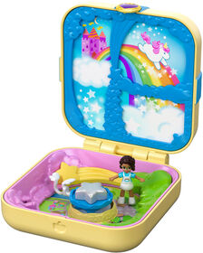 Polly Pocket Hidden Hideouts Unicorn Utopia
