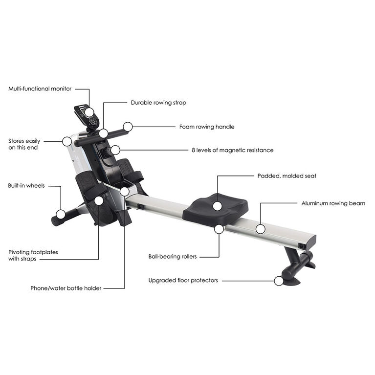 Stamina Products, Magnetic Rowing Machine 1110