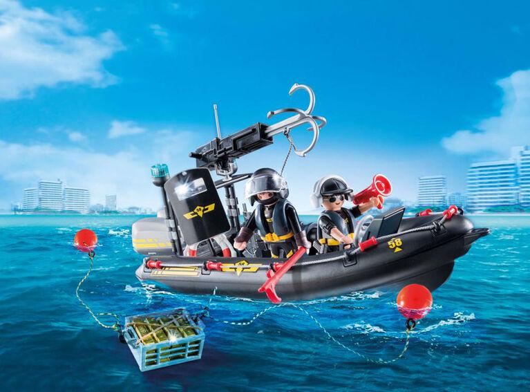 Playmobil - Tactical Unit Boat