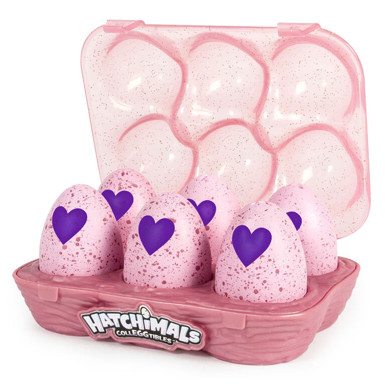 Hatchimals CollEGGtibles Season 2 - 6-Pack Green Egg Carton, Available Exclusively at Toys 'R' Us - R Exclusive