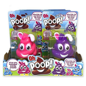 Oh Poop! Pâques Bunny Distributeur Lapin - Articles vendus individuellement, les couleurs varient.