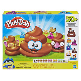 Play-Doh - Ensemble P'tits tas comprenant 12 pots