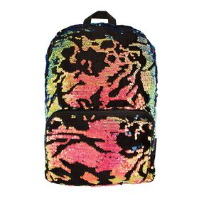 Scattered Magic Sequin & Velvet Backpack