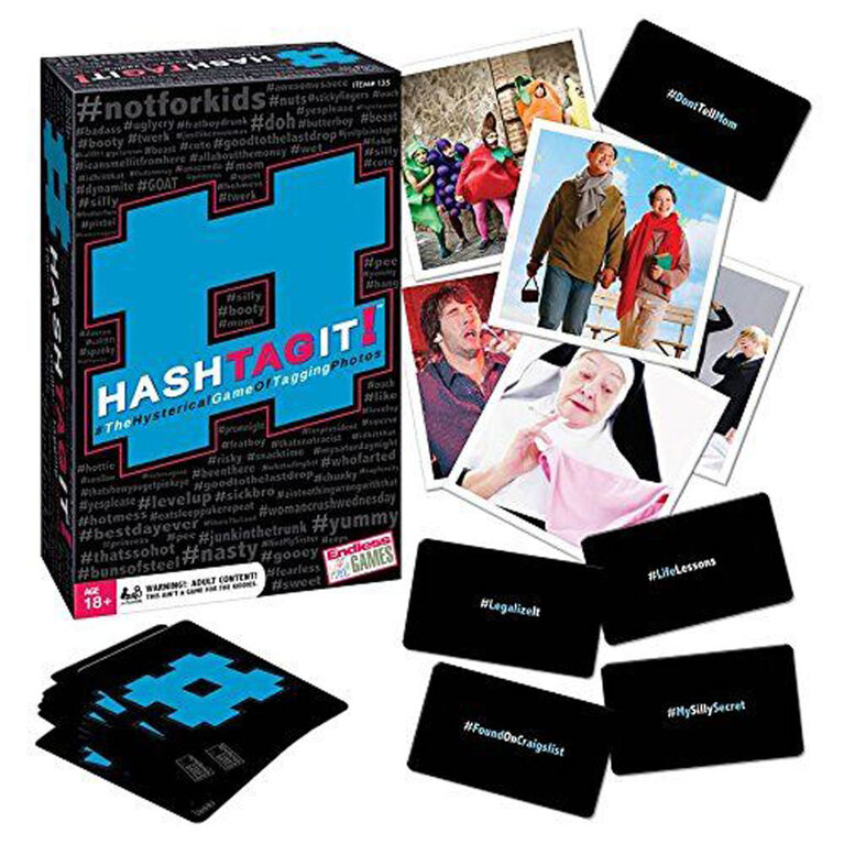 Endless Games - HASHTAG IT! Game