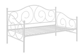 DHP - Victoria Metal Daybed, White
