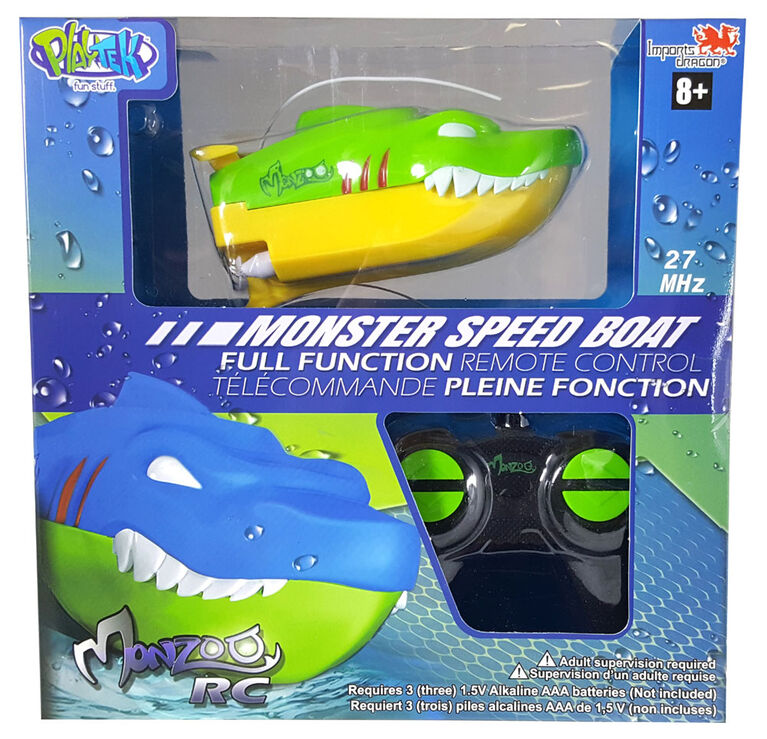 Monzoo RC - Monster Speed Boat.
