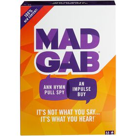 Mad Gab Game - Bilingual Edition