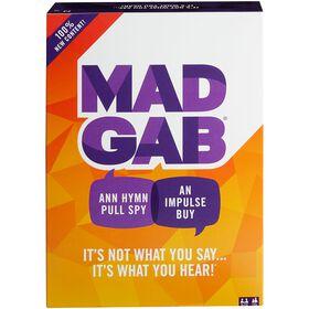Jeu Mad Gab - Édition bilingue
