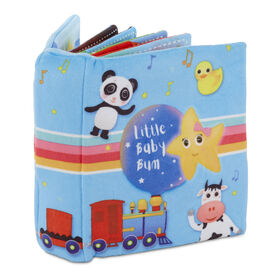 Little Baby Bum Singing Storybook Official Nursery Rhyme Song Soft Book