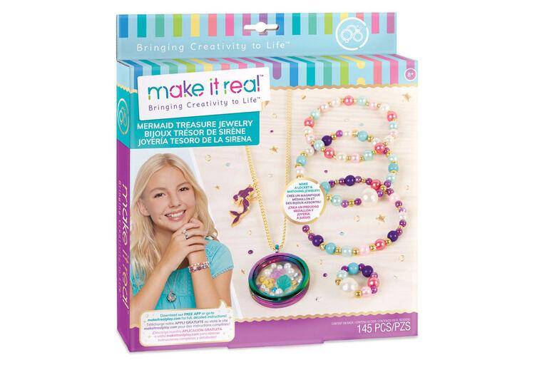 Make It Real Mermaid Treasure Jewelry
