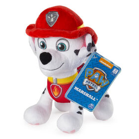 "PAW Patrol - 8"" Marshall Plush Toy, Standing Plush with Stitched Detailing"