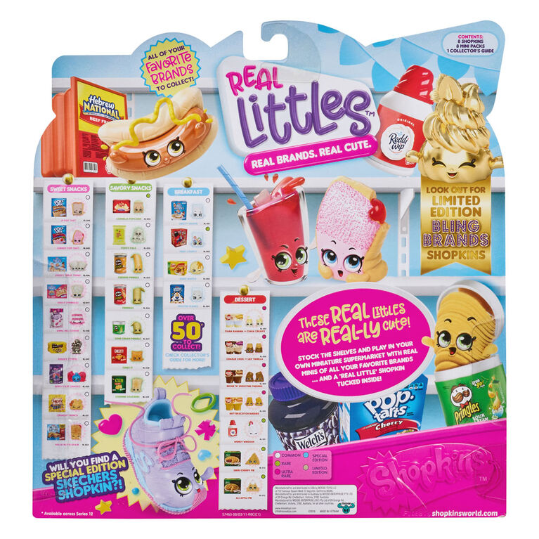 Shopkins Real Littles Lil' Shopper Pack - Cheddar Cheese Pringles