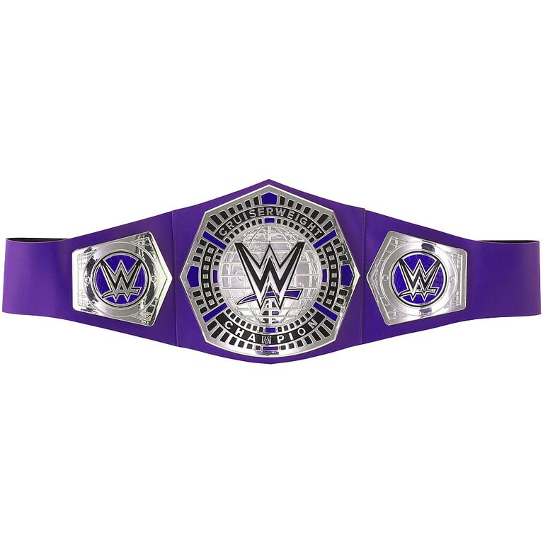 WWE Cruiserweight Championship Title Belt