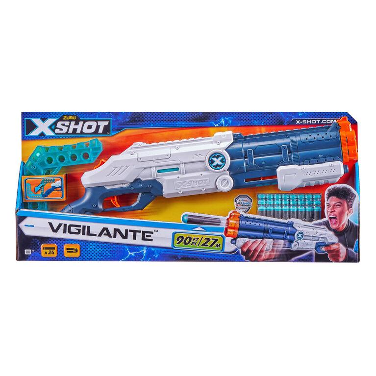 X-Shot Excel Vigilante Foam Dart Blaster (24Darts)