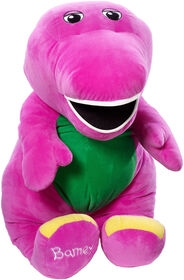 Fisher-Price Barney Speak 'n Sing Jumbo Plush Figure - English Edition
