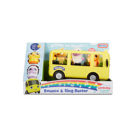 Little Baby Bum Bounce & Sing Buster School Bus Musical Vehicle Playset