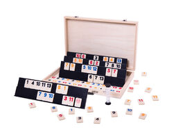 Rummy Wooden Suitcase - French Edition