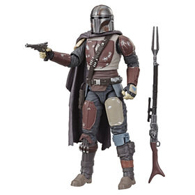 Star Wars The Black Series The Mandalorian 6-inch Scale Collectible  063061