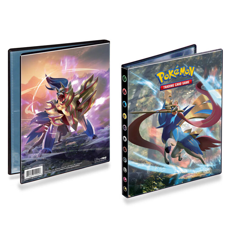 Pokemon Sword & Shield 4 Pocket Portfolio