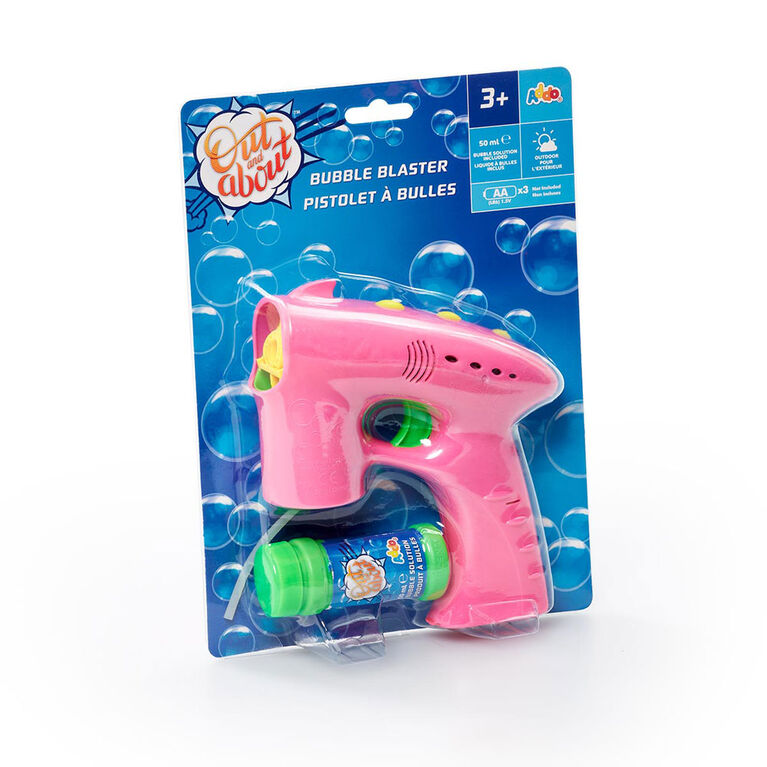 Out and About Bubble Blaster Pink - R Exclusive