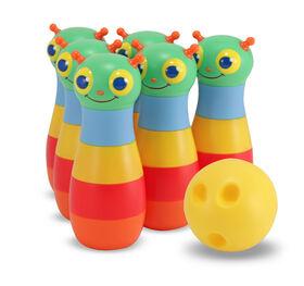Melissa & Doug - Giddy Bug Bowling Set - styles may vary