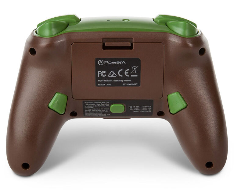 Nintendo Switch Enhanced Wireless Controller Minecraft Grass