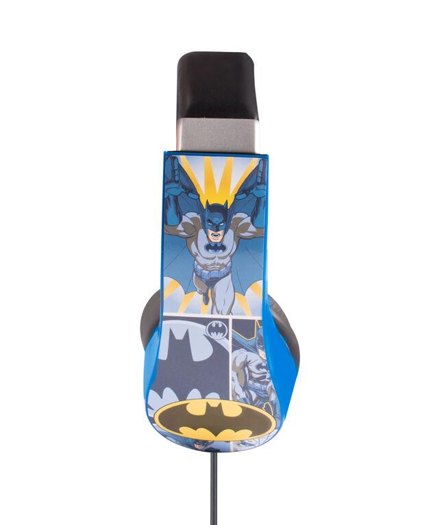 Casque d'écoute Batman pour enfants