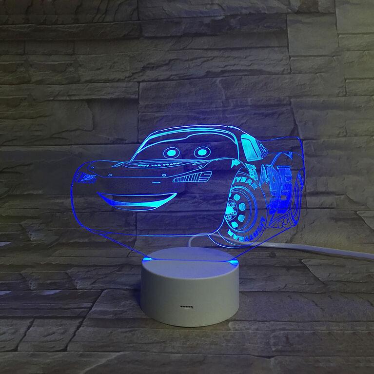 Disney Cars 3D LED Night Light