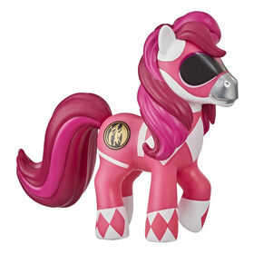 Collection Fusion My Little Pony et Power Rangers, poney Morphin rose, poney de collection inspiré des Power Rangers - R Exclusif