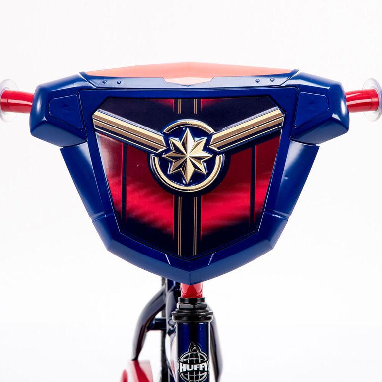 Huffy Marvel Captain Marvel Bike - 16 inch