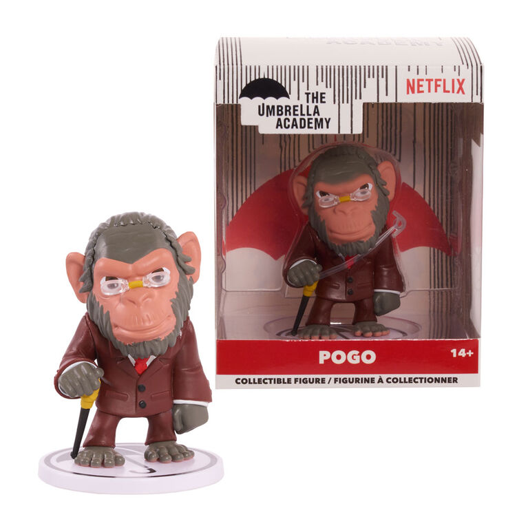 "The Umbrella Academy 2.5"" Stylized Collectible Figure- Pogo - R Exclusive"