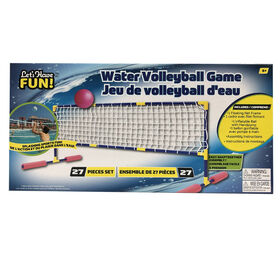 Jeu de volleyball d'eau