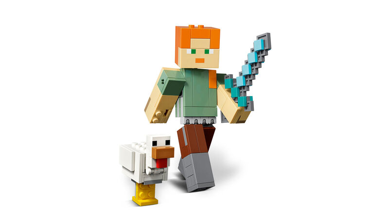LEGO Minecraft Alex BigFig with Chicken 21149