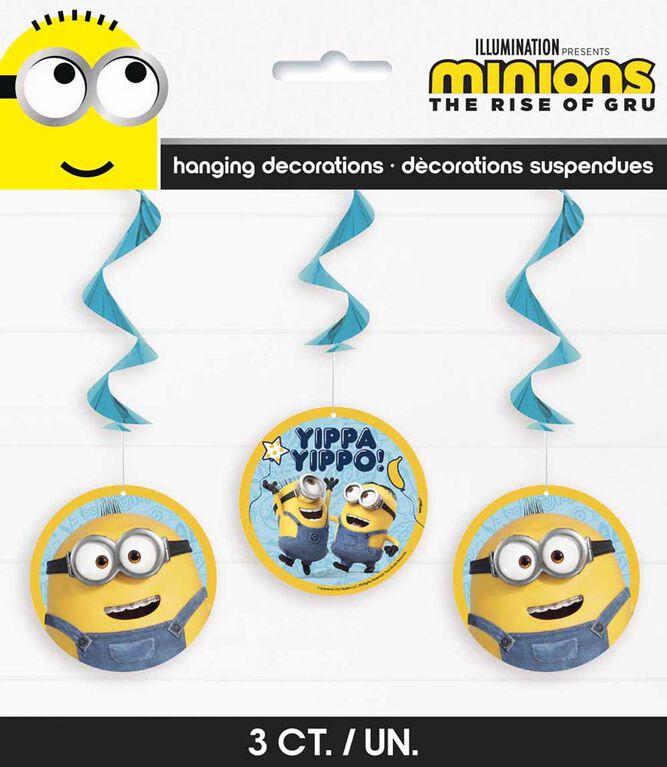 "Minions 26"" Decorations Suspendues, 3un"