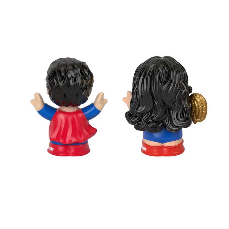 Fisher-Price Little People DC Super Friends Superman & Wonder Woman