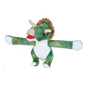 Wild Republic Hugger Triceratops Snap Bracelet