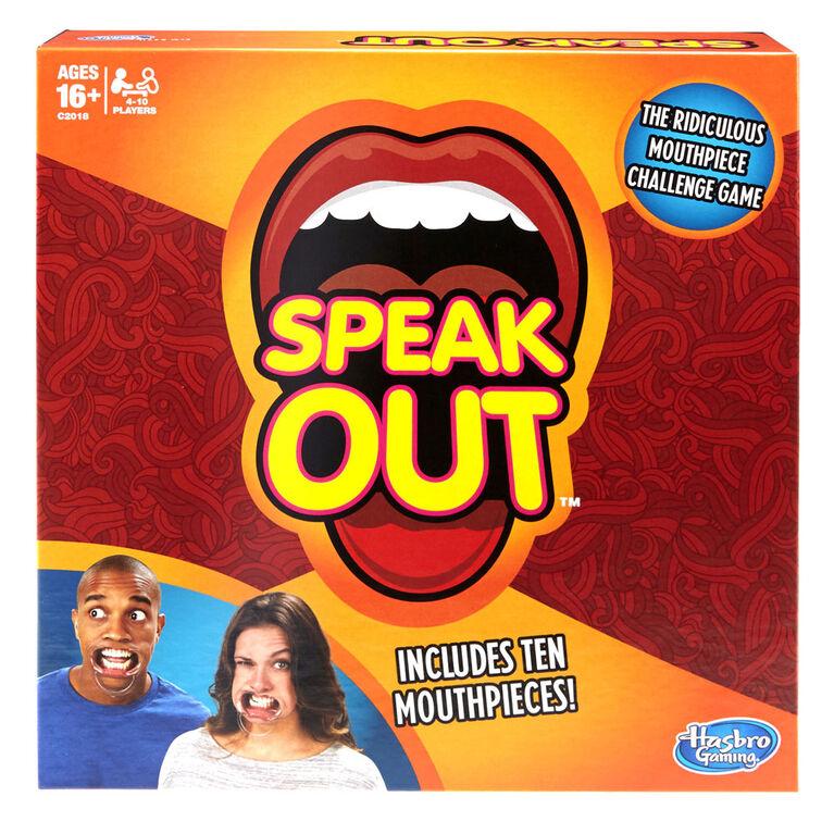 Hasbro Gaming - Speak Out Game - English Edition