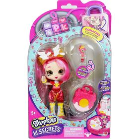 Shopkins Lil' Secrets Shoppies Single Pack - DONATINA