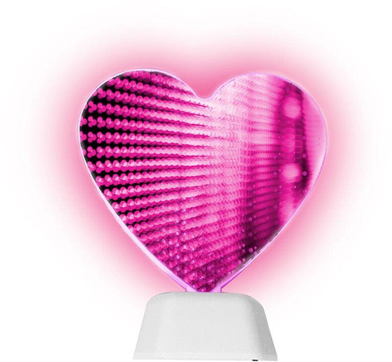 Teen Tech Room Décor Infinity Heart Lamp