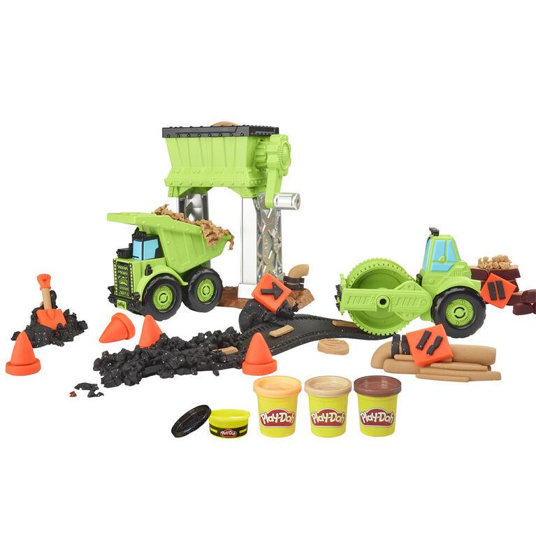 Play-Doh Wheels Gravel Yard Construction