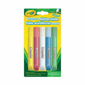 Crayola Washable Glitter Glue, 5 Ct