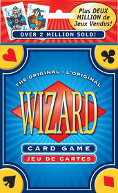 Wizard Card Game - styles may vary