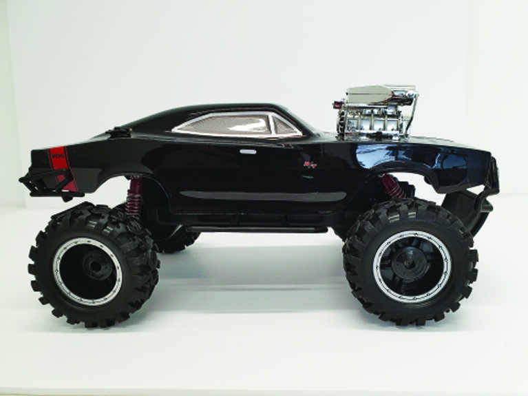 RC 1:8 Scale Crazy Western Cross-Country Desert Monster - R Exclusive