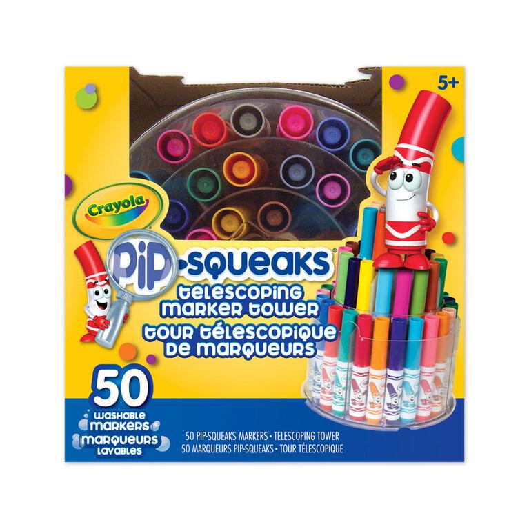 Crayola Pip-Squeaks Telescoping Marker Tower